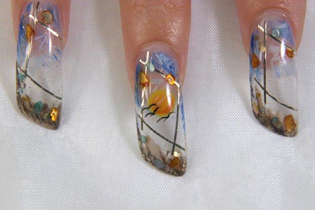 Дизайн ногтей мастер класс для начинающих